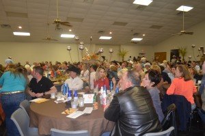 Turkey Fest full strut banquet