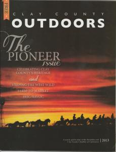 Clay County Outdoors Mag Cover